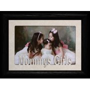 Mommy's Girls Landscape Picture Frame ~ Holds A 4X6 Or Cropped 5X7 Photo ~ Wonderful Gift For Mom From Her Little Girls!