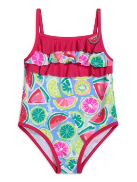 Tommy Bahama Watermelon Printed One-Piece Swimsuit Girls 4-16