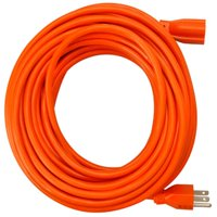 02308ME 50 ft. Orange Round Vinyl Extension Cord