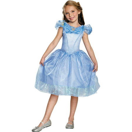 Cinderella Movie Classic Child Halloween Costume](Family Halloween Costume Ideas 2017)