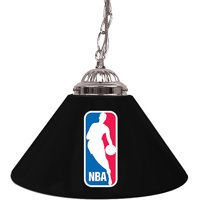 """Trademark Global NBA Logo 14"""" Single Shade Bar Lamp"""