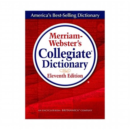 Merriam Websters Collegiate Dictionary 11Th Ed Indexed W Cd