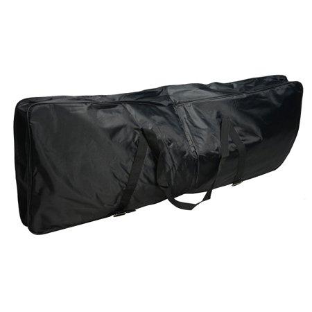 Zimtown 76 Key Oxford Cloth Electone Keyboard Gig Bag Case Black ()