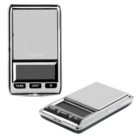 Insten Digital Jewelry Scale 500g x .01 gram Mini Small Digital Scale in Grams Digital Scales For Grams Ounces with LCD Display US (Weight Balance Scale Precision)