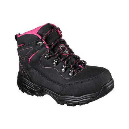 d30e8838e81e Skechers Work - Women s Skechers Work D Lites Slip Resistant Amasa Alloy  Toe Boot - Walmart.com