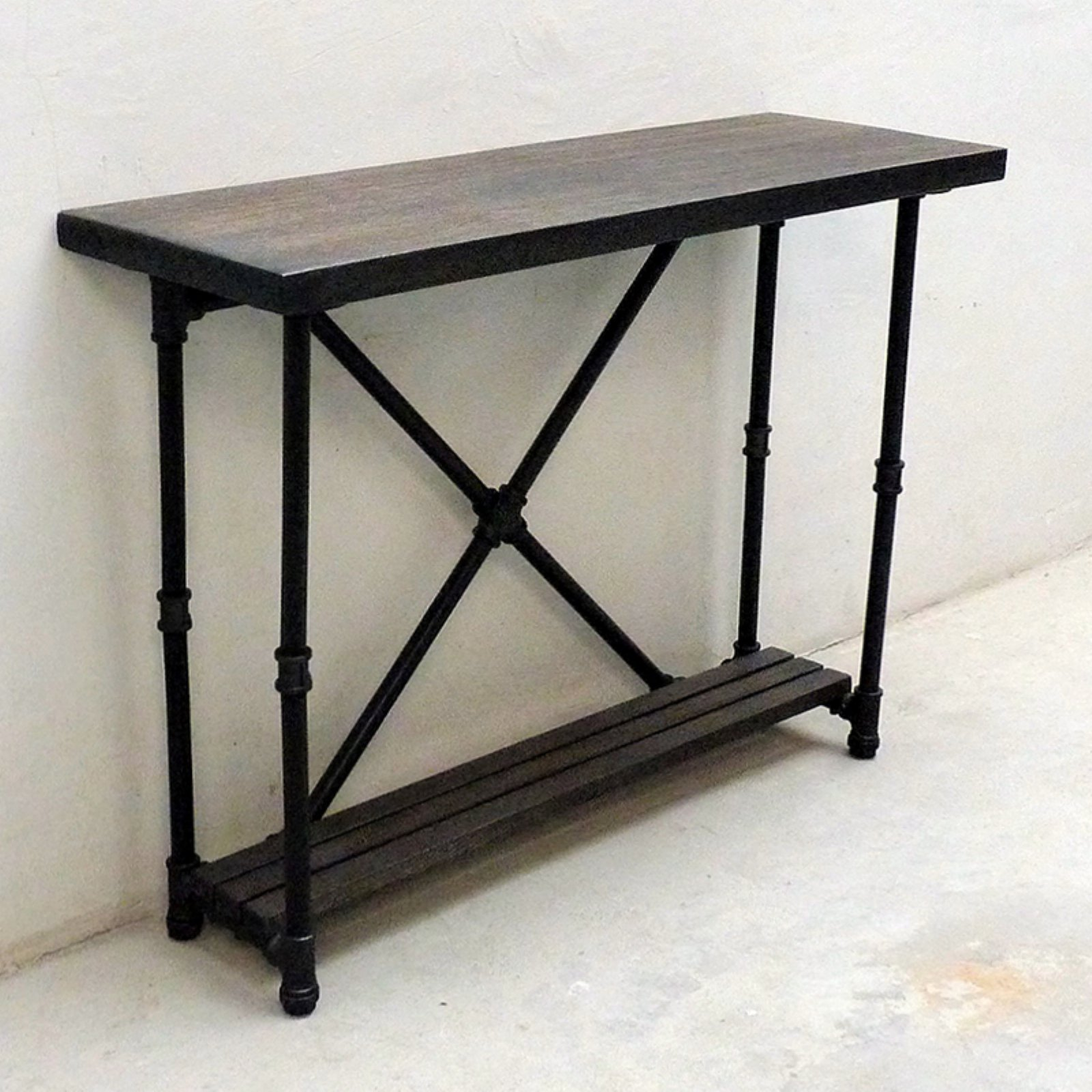 Ordinaire Furniture Pipeline Houston Industrial Console Table