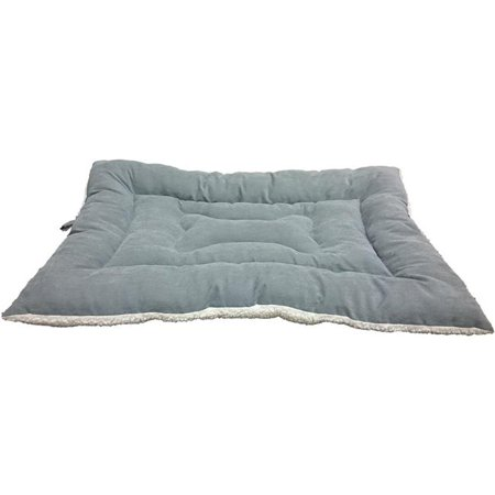 Image of Ethical Pets 32880 37 in. Sleep Zone Fashion Bed & Crate Mat, Grey