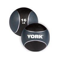 York Medicine Ball - Blue -16 lbs