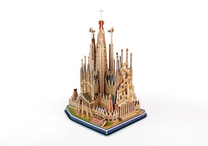 Sagrada Familia 3D Puzzle 194 Pieces by