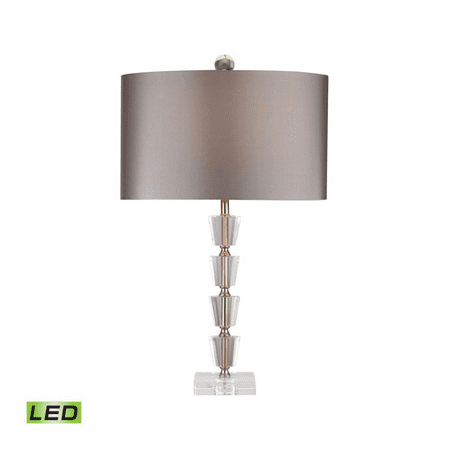 95 Wireless Crystal - Table Lamps 1 Light With Clear and Gold Metal and Crystal LED 26 inch 9.5 Watts