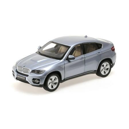 BMW X6 Active Hybrid Blue Water Metallic 1/18 Diecast Car Model by Kyosho (Metallic Blue)