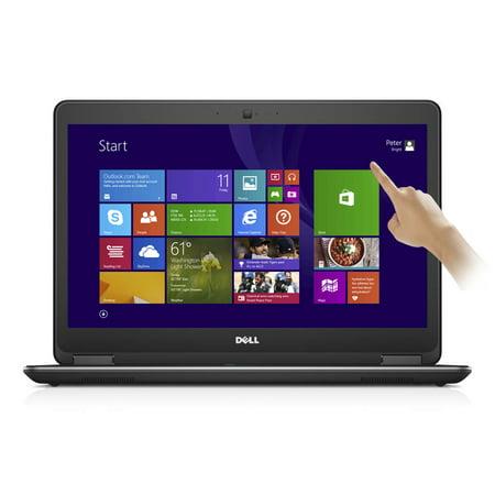 "Refurbished Dell Latitude E7440 14"" FHD Touch Ultrabook Intel i7-4600U 2.1GHz 8GB 256GB SSD"