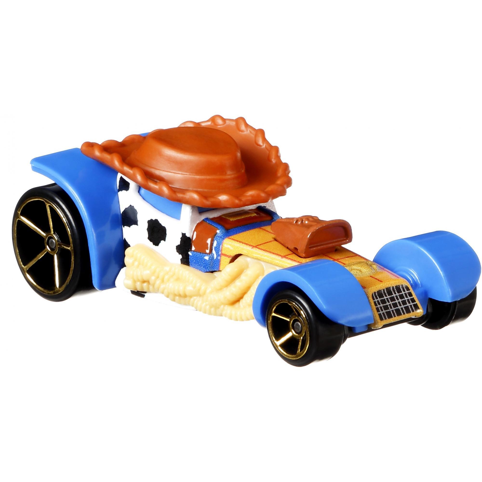 Hot Wheels Disney Pixar Toy Story Woody Character Car