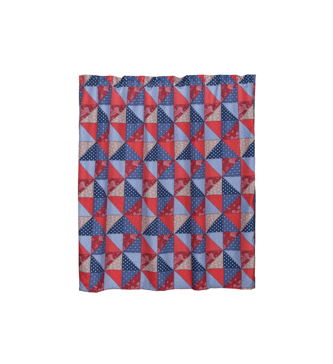 Miles Kimball Americana Shower Curtain
