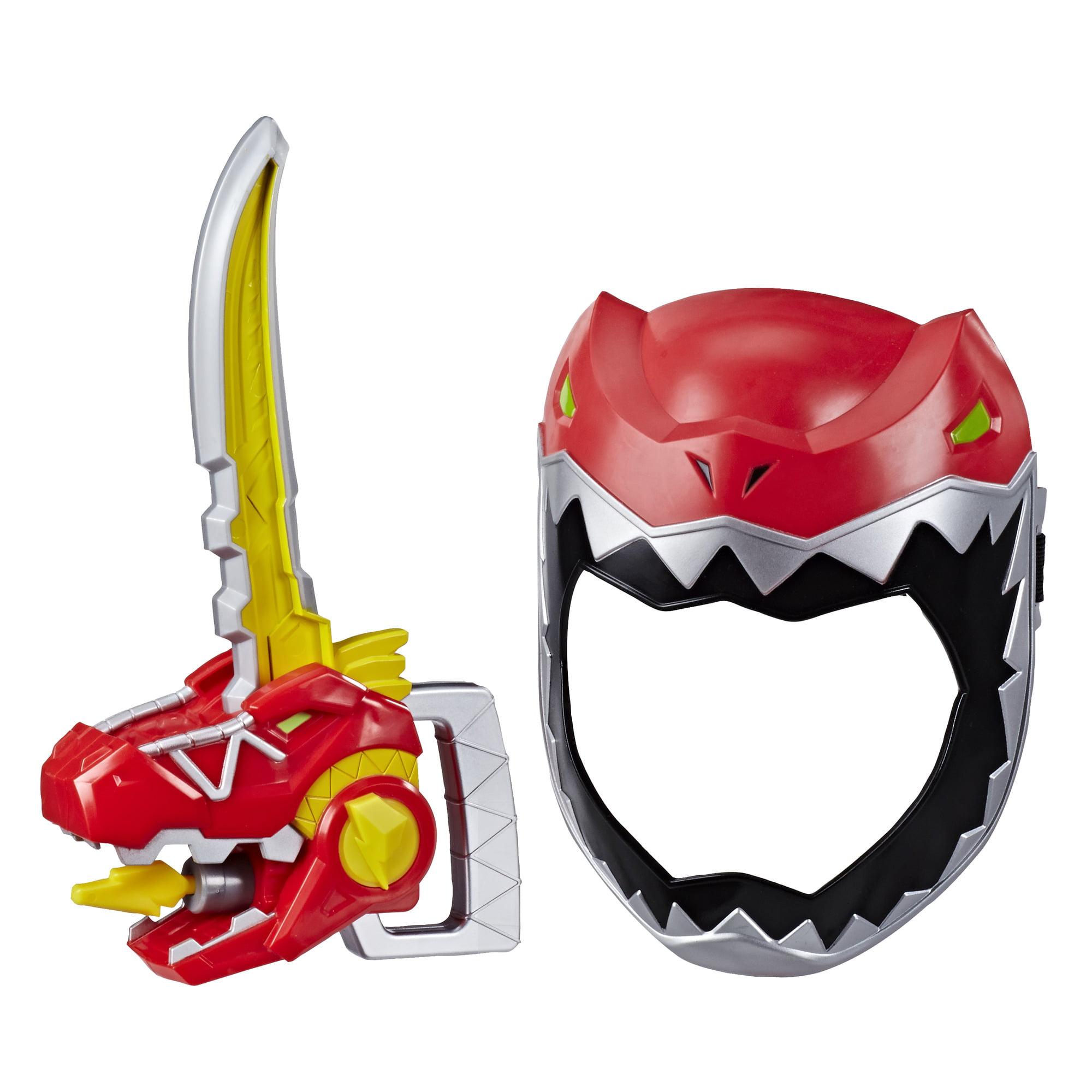 Playskool Heroes Power Rangers Zord Saber Red Ranger Mask With Sword Walmart Com Walmart Com