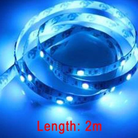 1M USB Power Supply LED Strip Tape TV Background Lighting DIY Decorative Lamp Camping Lights Bicycle