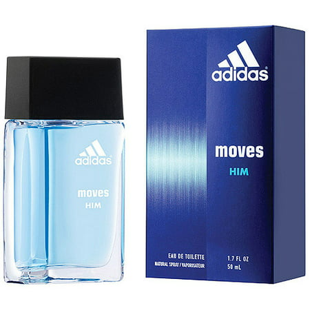 Adidas Moves for Him Eau de Toilette Spray, 1.7 fl oz (Adidas Busenitz Pro)