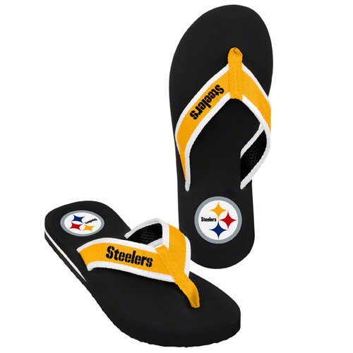 NFL - Pittsburgh Steelers Contour Flip Flop