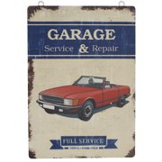 Attraction Design Home ''Garage Service and Repair'' Antique Wisdom Sign Wall D cor