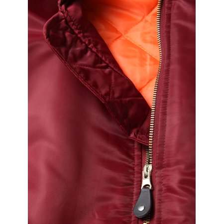 Ma Croix Mens MA-1 Premium Bomber Jacket Flight Jacket Outerwear