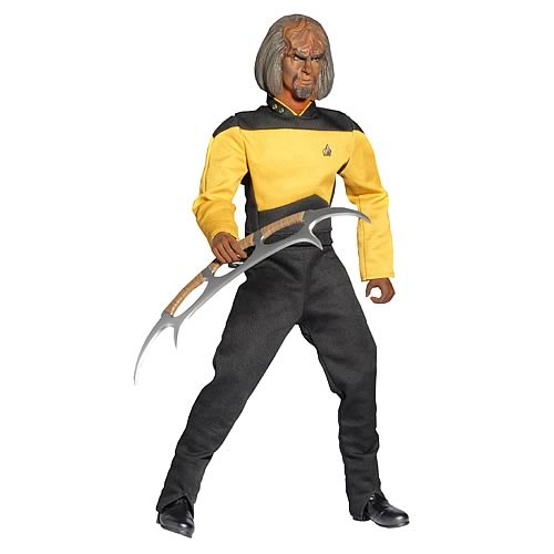 Star Trek Next Generation Worf 1:6 Scale Action Figure by