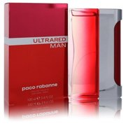 Paco Rabanne FX23933 Ultrared by 3.4 oz Eau De Toilette Spray for Men