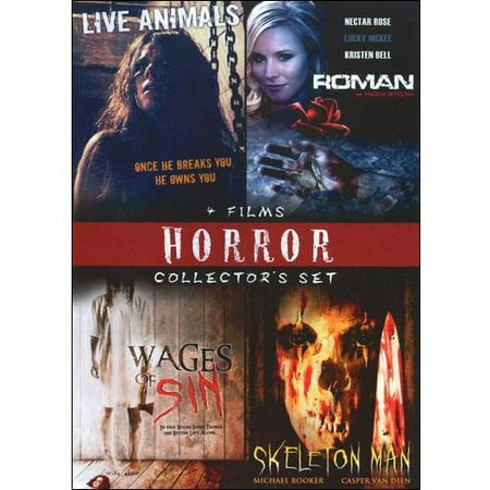 Smiley Man Horror (Horror Collector's Set, Vol. 3 - Live Animals / Roman / Wages Of Sin / Skeleton)