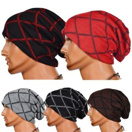 402b9533068f5 Honganda - Men´s Women´s Knit Baggy Beanie Oversize Fashion Winter Hat Ski  Slouchy Chic Cap - Walmart.com