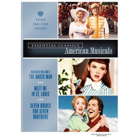 Essential Classics - American Musicals (The Music Man / Meet Me in St. Louis / Seven Brides for Seven (June Lockhart Meet Me In St Louis)
