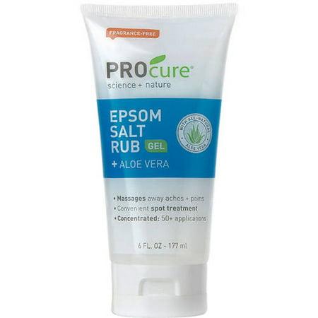 Pro Cure Epsom Salt Rub Gel, 6 fl oz