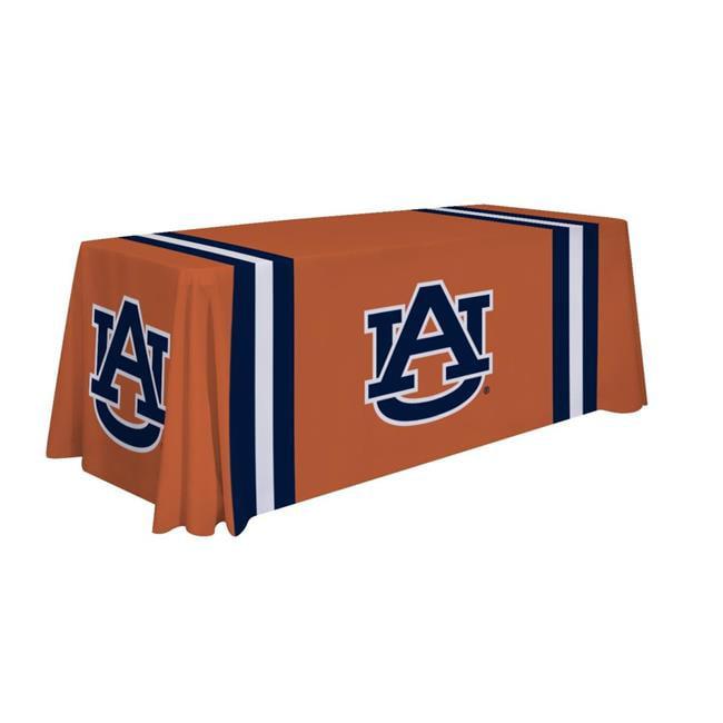 Victory Corps 810026AUB-002 6 ft. Auburn Tigers NCAA Dye Sublimated Table Throw - No.002
