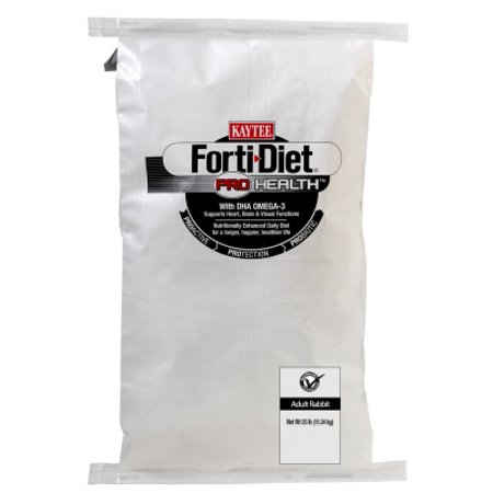 Central   Kaytee Products  Inc Adlt Rabbit F D  Pro Hlth 25Lb Forti Diet Pro Health