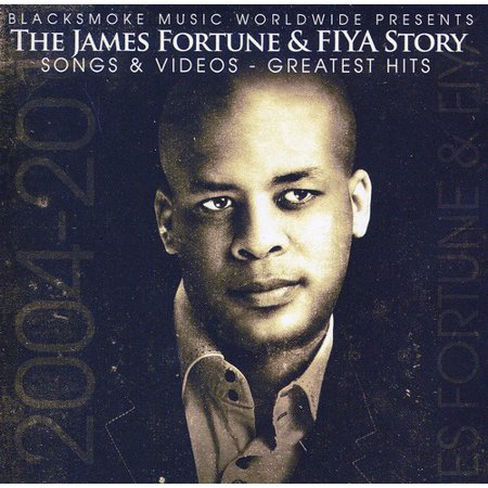 James Fortune and Fiya Story (CD) (Includes DVD)