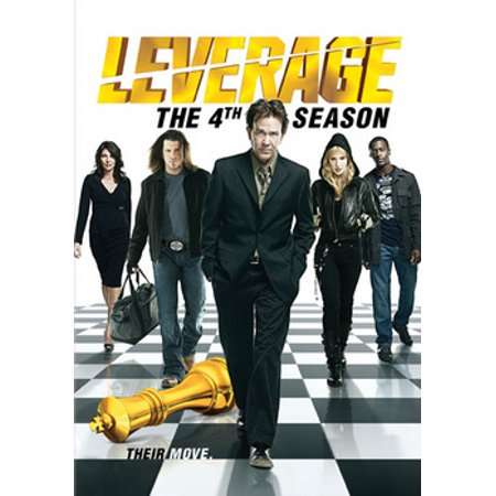 Leverage: The 4th Season (DVD) - Four Seasons Woodblock
