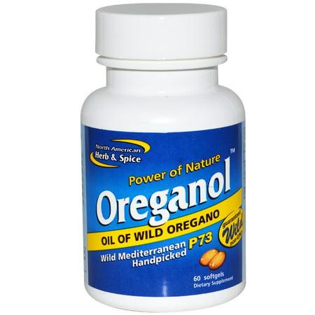 Oreganol North American Herb & Spice, 60 Softgel