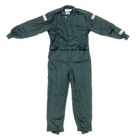 G-Force Black Youth Small Single Layer GF125 Driving Jacket P/N