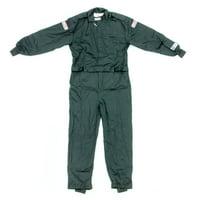 G-Force Black Youth Small Single Layer GF125 Driving Jacket P/N 4126CMDBK
