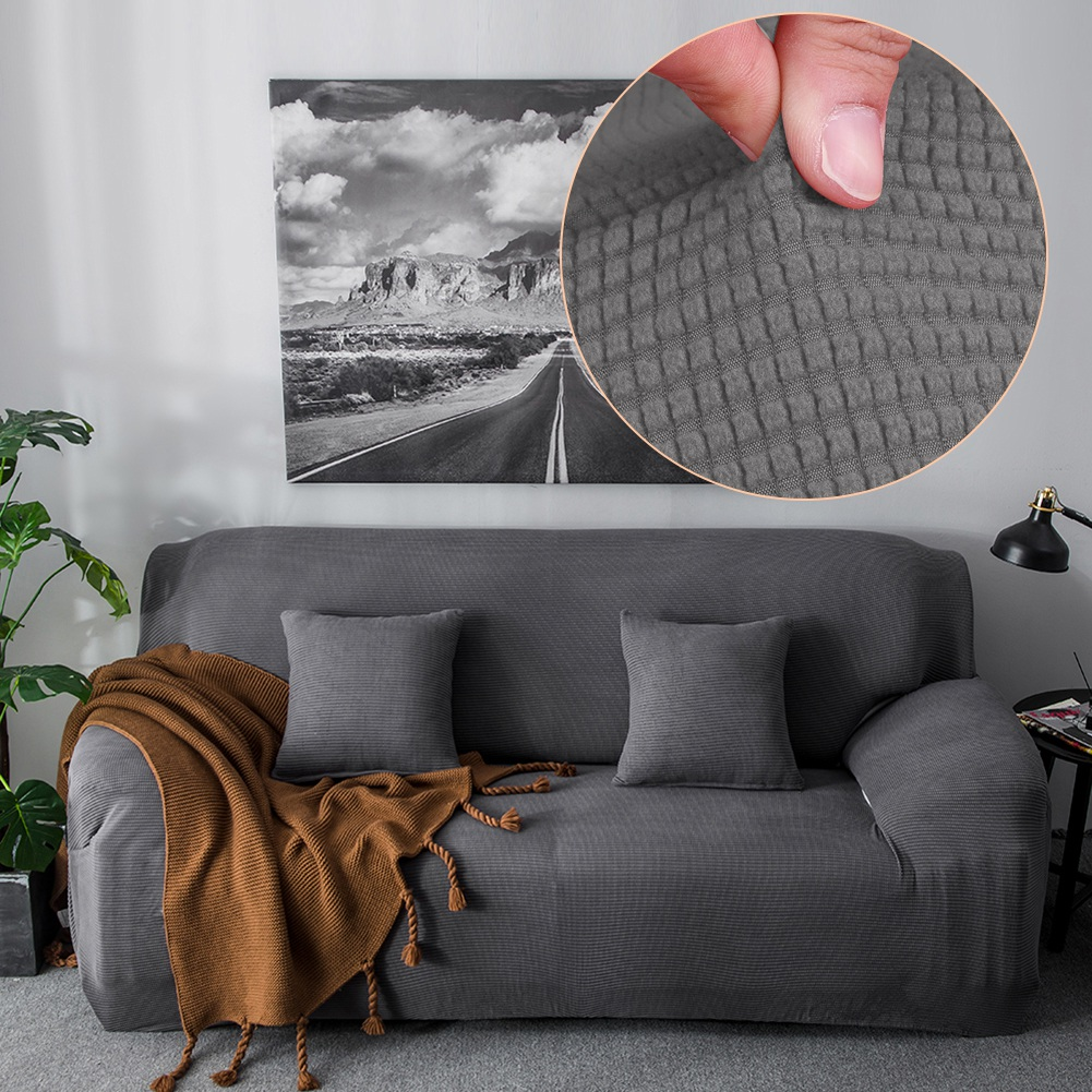 WALFRONT Soft Comfortable Sofa Couch Cover Chair Throw Mat Furniture Protector Slipcover,Sofa Cover, Furniture Cover 1 2 3 4 Seat