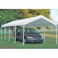 Shelterlogic Super Max 12' x 26' 5-Rib Canopy White Cover
