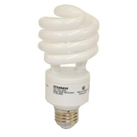Osram Sylvania 23w 120v E26 Mini Twist Cfl Light Bulb