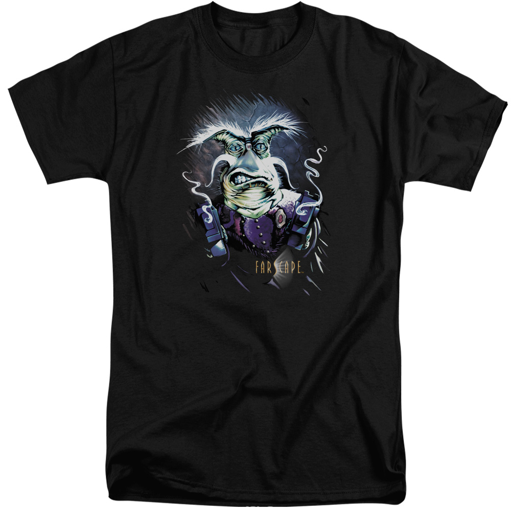 Farscape Rygel Smoking Guns Mens Big and Tall Shirt