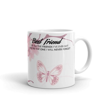 Best Friend The Friend's I Have Met Coffee Tea Ceramic Mug Office Work Cup