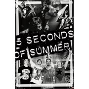 """Trends International 5 Seconds of Summer Collage Wall Poster 22.375"""" x 34"""""""