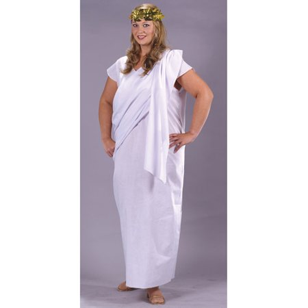 Toga Toga Plus Size Adult Halloween Costume, Size: Plus Size - One Size - Plus Size Halloween Costume Ideas For Couples