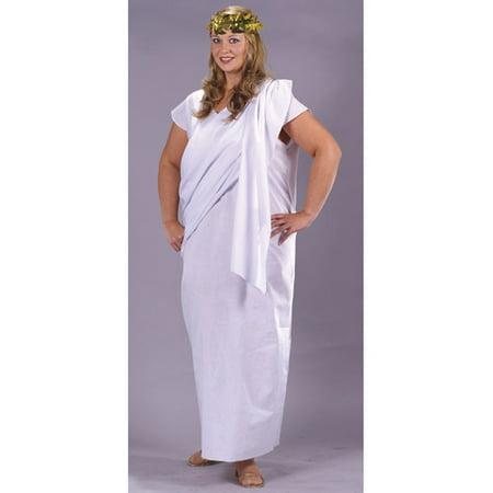 Toga Toga Plus Size Adult Halloween Costume, Size: Plus Size - One Size - Plus Size Renaissance Halloween Costumes