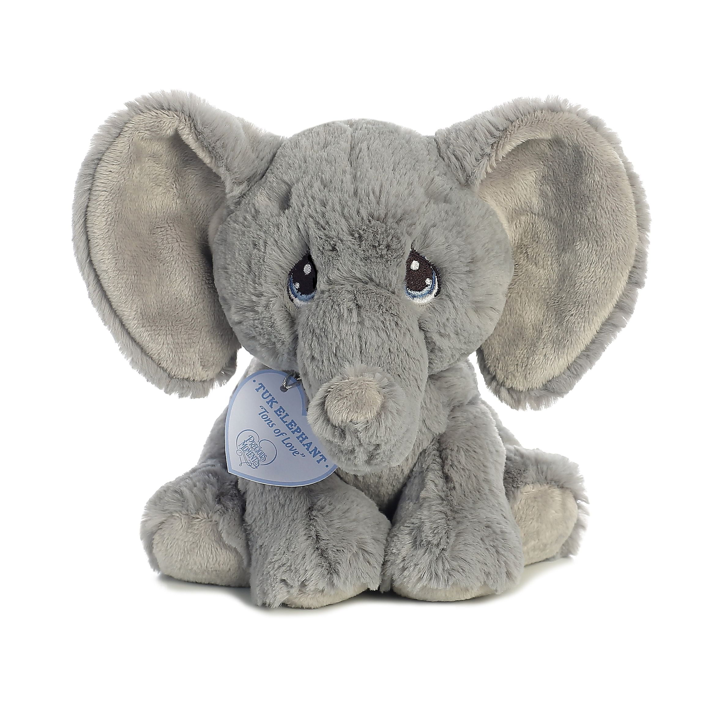 Tuk Elephant 8 inch Baby Stuffed Animal by Precious Moments (15704) by Precious Moments