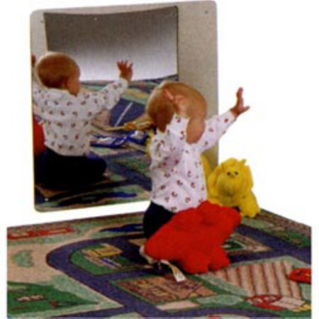 Kids Safe Frameless Acrylic Mirror Adjustable Louver Acrylic Mirror