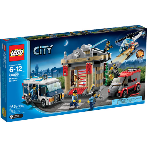 Lego City Police Museum Break-in Play Set by LEGO Systems, Inc.