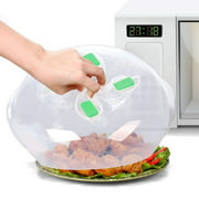 Cheers 2Pcs Microwave Oven Food Heating Anti-splash Splatter Cover Lids with Vent Holes