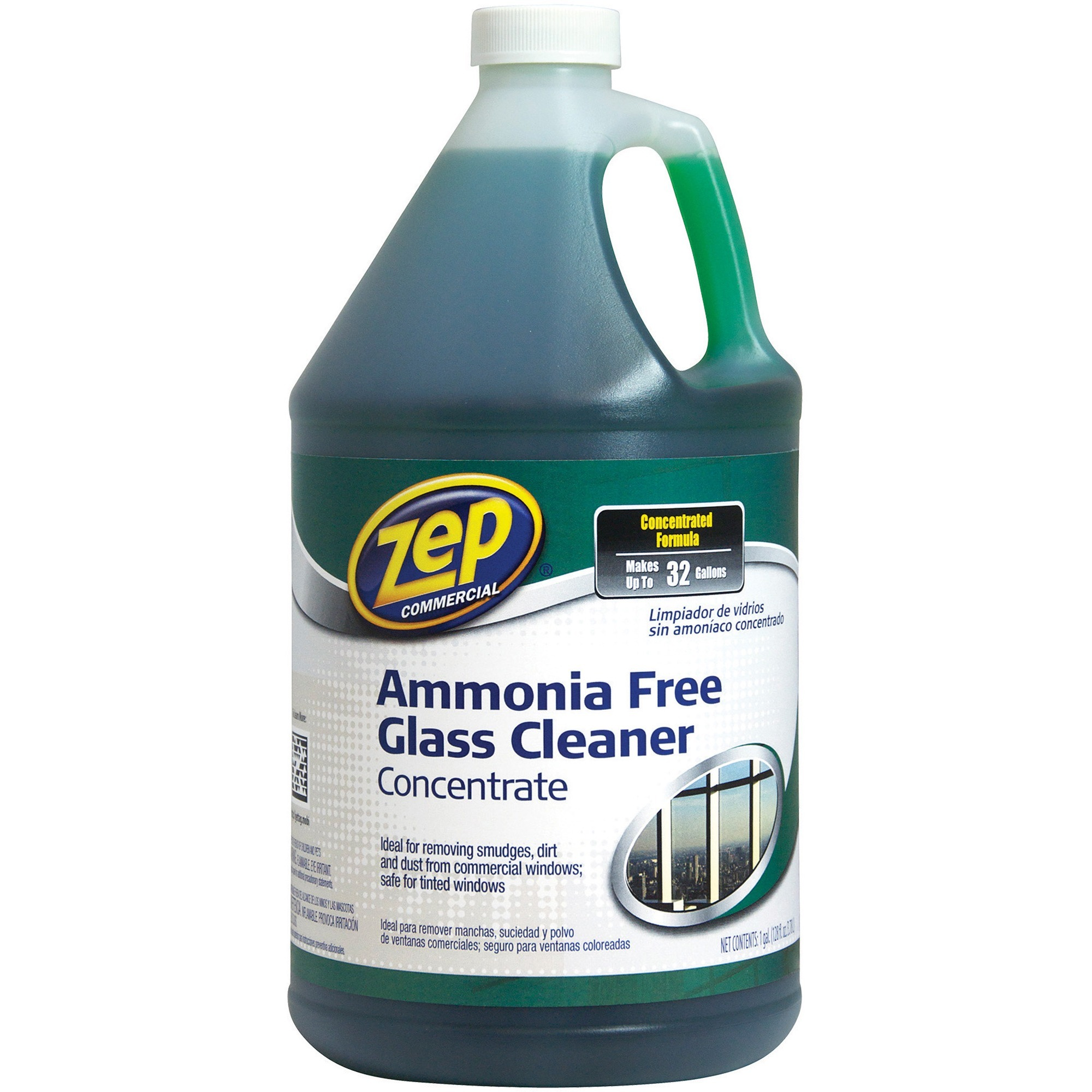 Zep Commercial, ZPE1041682, Glass Cleaner Concentrate, 1 Each, Green